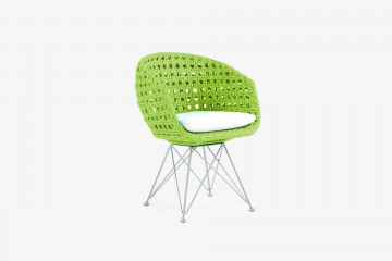 Amalfi Arm Child Chair - Lime Green