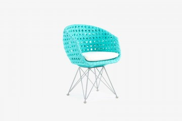Amalfi Arm Child Chair - Turquoise