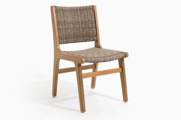 Copenhagen Retro Side Chair - Wicker