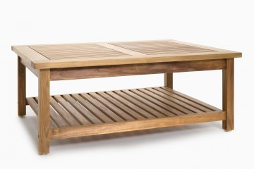 Manhattan Coffee Table with Shelf
