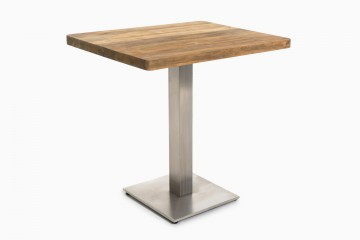 Mexico Dining Table Top - Stainless Steel Base