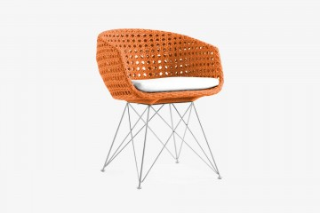Amalfi Arm Chair - Orange