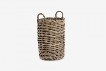 Cebu Planter Round w/Handle - Large Dia 35 x Ht 50 cm - Cebu Planter Round Large - Dia 35 x Ht 50 cm
