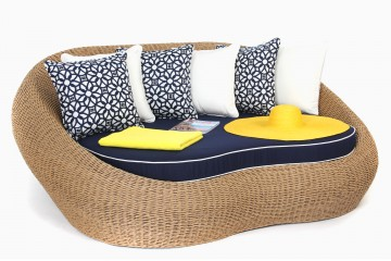 The Sherena Oval Daybed