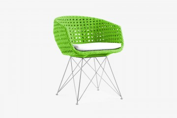 Amalfi Arm Chair - Lime Green