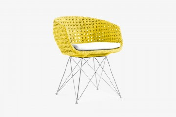 Amalfi Arm Chair - Yellow