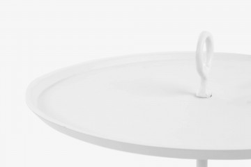 Bahamas Side Table - MS White