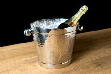 Bangkok - Wine Bucket Oval w/Ball Handle -