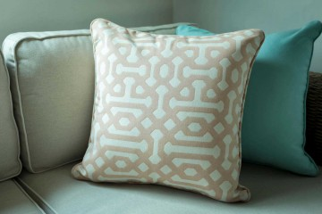 Square Pillow 50 cm - Fretwork Cameo