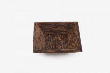 Honolulu Coconut Square Tray, 4.5 Inch