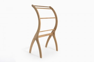Lyon Teak Towel Rack -