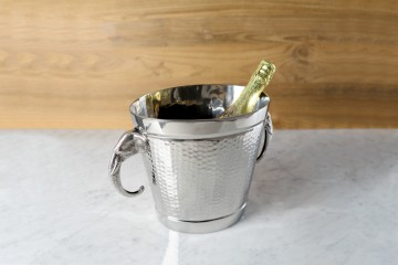Mandalay Wine Bucket Oval - Elephant Handle