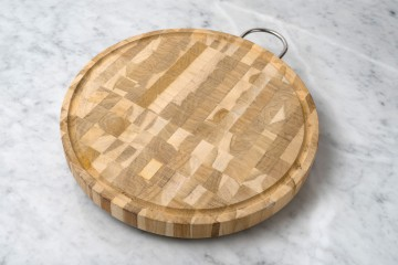 Cutting Board W/SS Handle -